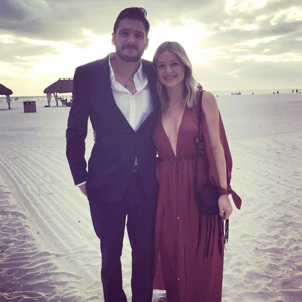 Talan Torriero and Danielle Torriero