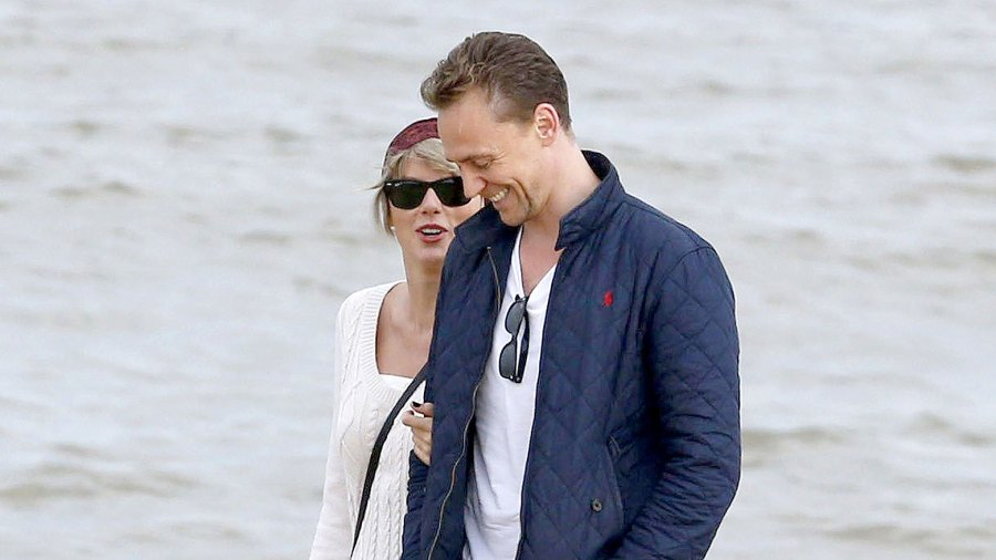 Tom Hiddleston and Taylor Swift in Suffolk, UK on June 26, 2016.