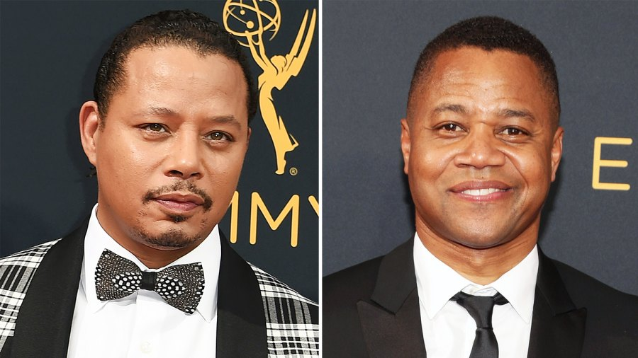 Terrence Howard Cuba Gooding Jr. Emmys 2016