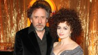 Tim Burton and Helena Bonham Carter attend 'A Night Of Funk & Soul 2013' for Save The Children UK at The Roundhouse on March 20, 2013 in London, England.