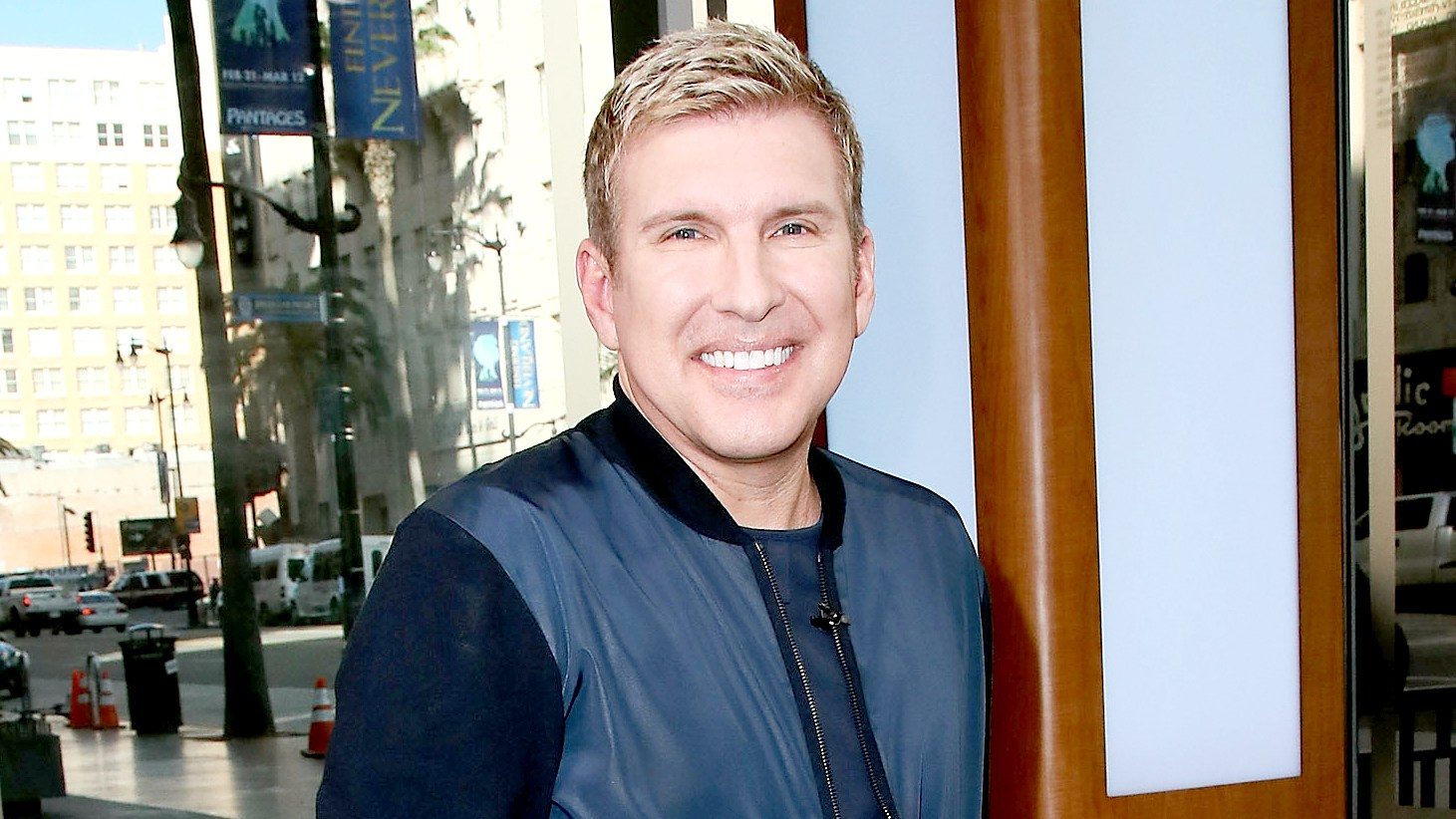 Todd Chrisley visits Hollywood Today Live at W Hollywood on February 24, 2017 in Hollywood, California.