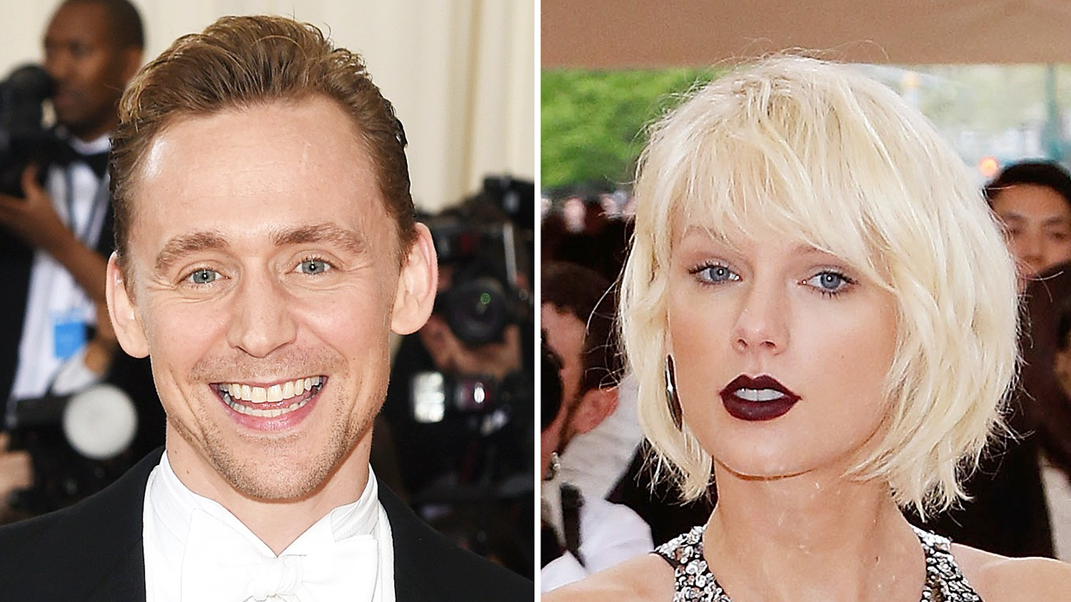 Tom Hiddleston and Taylor Swift