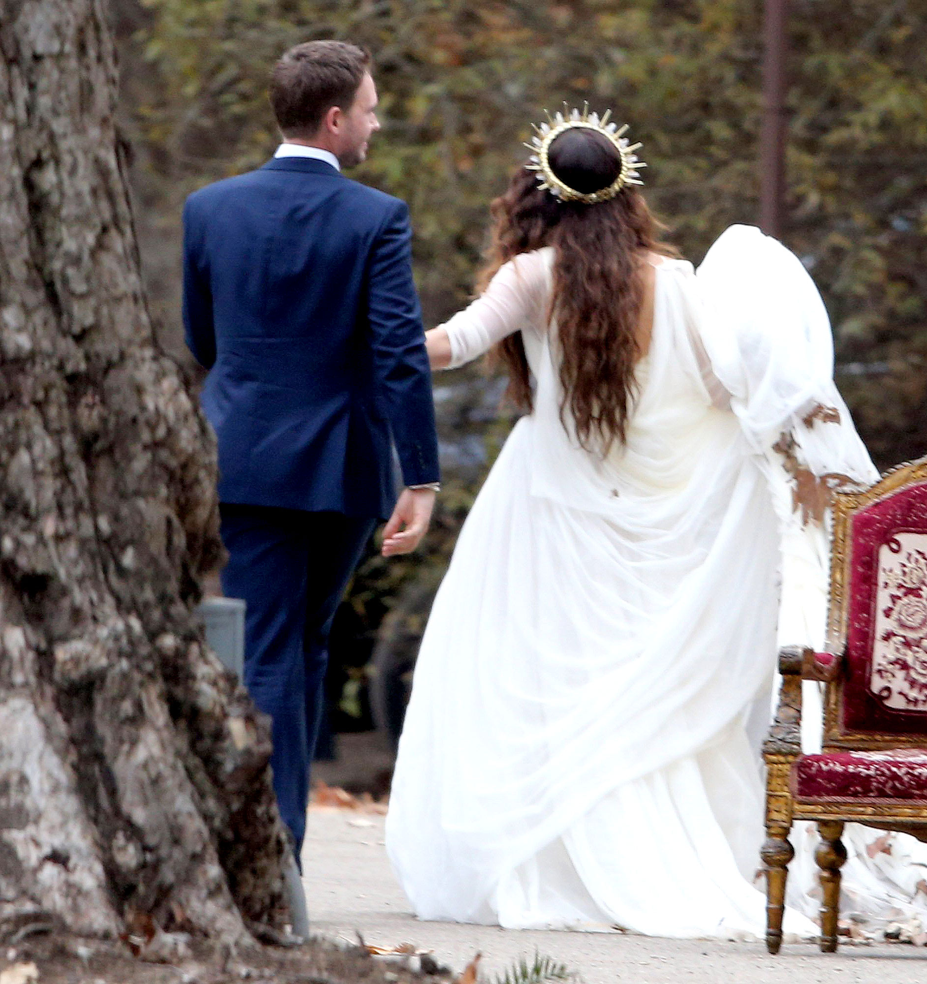 Troian Bellisario And Patrick J Adams Wedding 7