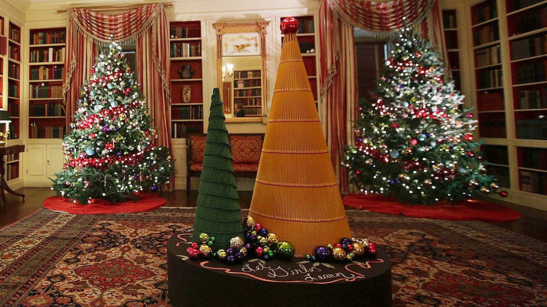 White House Christmas tree decorations