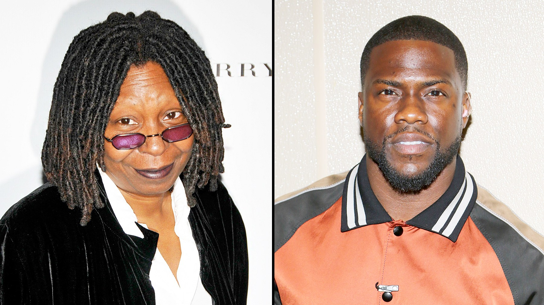 Whoopi Goldberg and Kevin Hart