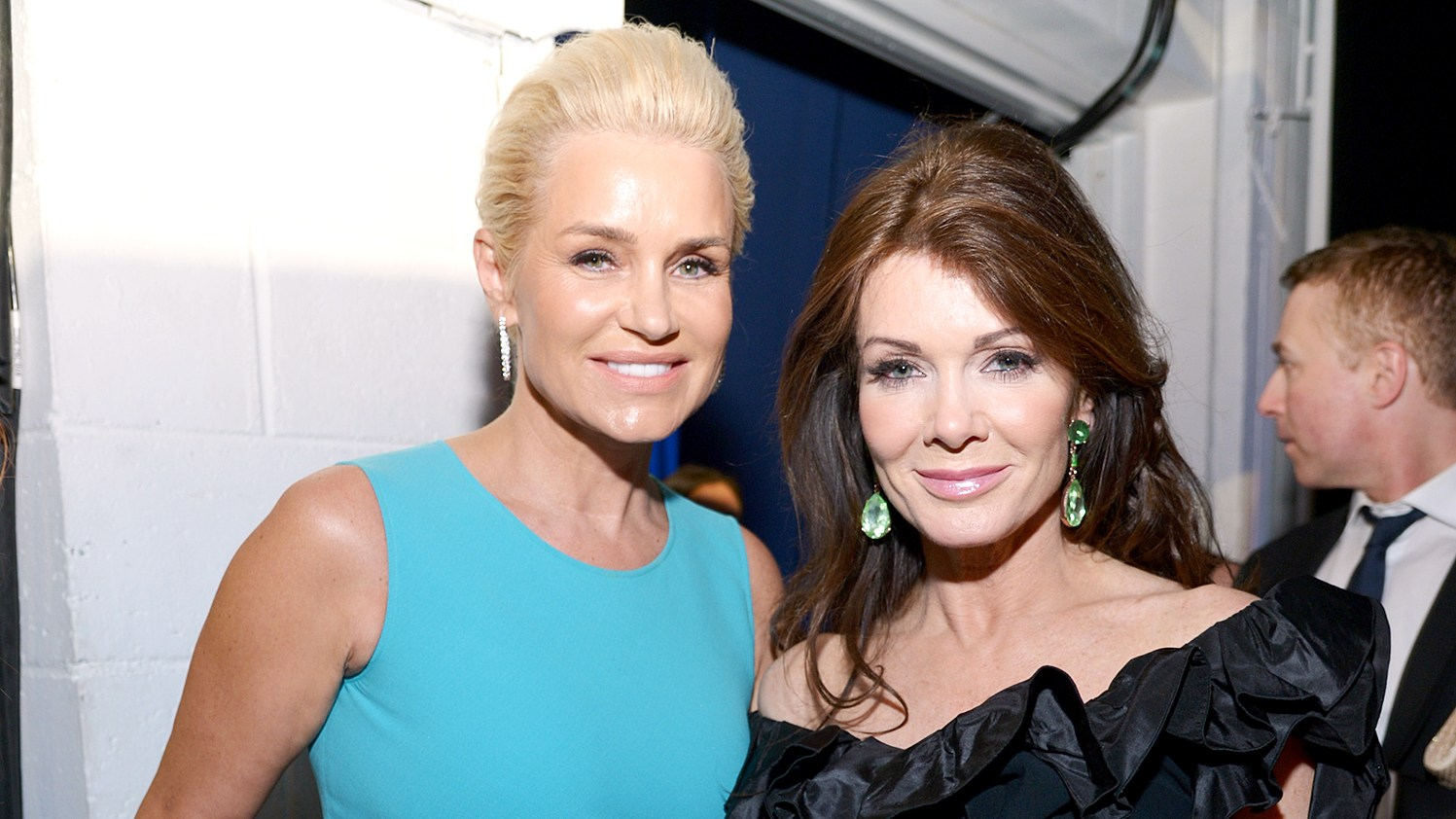 Yolanda Foster and Lisa Vanderpump