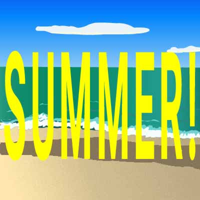 Summer Beach clip art created by Maricar Jakubowski ©2017 Maricar Jakubowski All rights reserved. No usage in any form without written consent of the creator. info@usmaltd.com