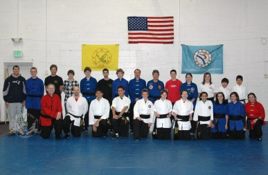 December 2010 Black Sash Test participants at U.S. Martial Arts Academy, Ltd., Timonium, Maryland ©2010 Maricar Jakubowski No usage in any form without the written consent of the copyright holder. www.usmaltd.com