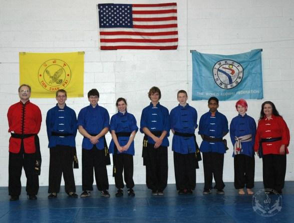 Black Sash Test at U.S. Martial Arts Academy, Ltd., Timonium, Maryland 21093 November, 26, 2011
