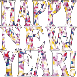Happy New Year! clip art created by Maricar Jakubowski