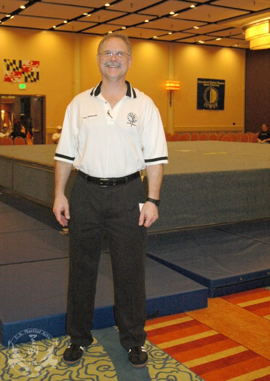 New Referee -- Shi Fu Paul at the 2012 U.S. International Kuo Shu Championship Tournament in Hunt Valley, Md.