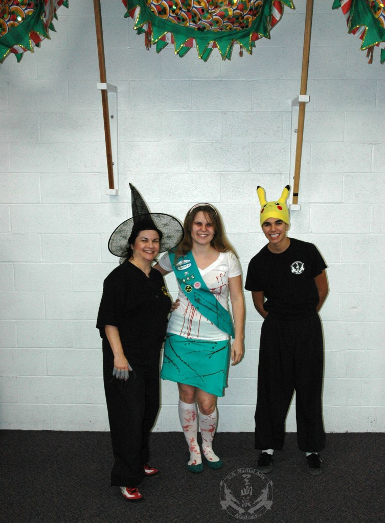 Halloween 2012 at US Martial Arts Academy, Ltd. in Timonium, Maryland