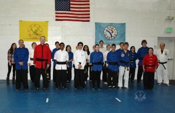 Black Sash test at U.S. Martial Arts Academy, Ltd., Timonium, Maryland 21093