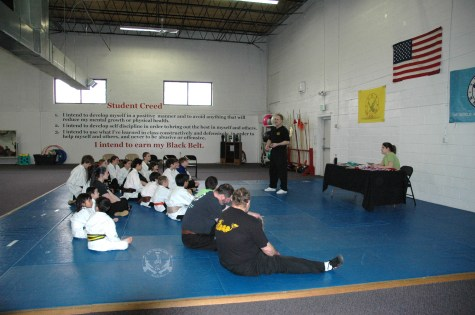 March 2013 In-house Tournament at U.S. Martial Arts Academy, Timonium, Maryland