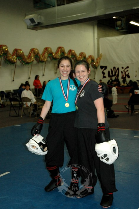 Black Sash medal winners at the March 2013 In-house Tournament at U.S. Martial Arts Academy, Ltd Timonium, Maryland