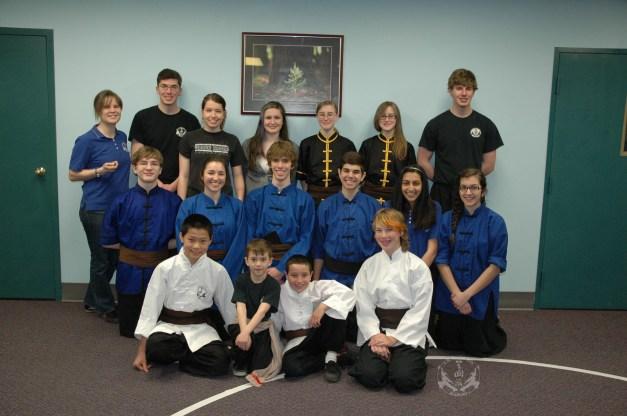 Grandmaster Huang's 2013 Tien Shan Pai Legacy Tournament - U.S. Martial Arts Academy Ltd. students and instructors