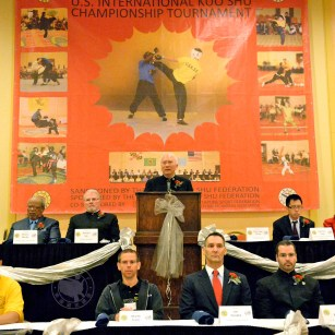 Opening Ceremony at the 2013 U.S. International Kuo Shu Champion