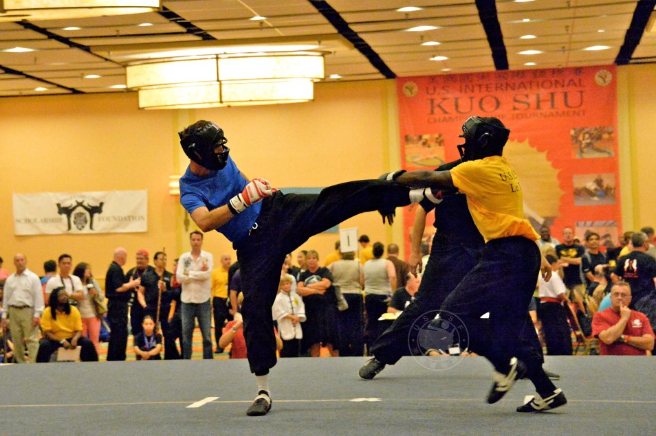 Lei Tai at the 2013 U.S. International Kuo Shu Championship Tournament in Hunt Valley, Md