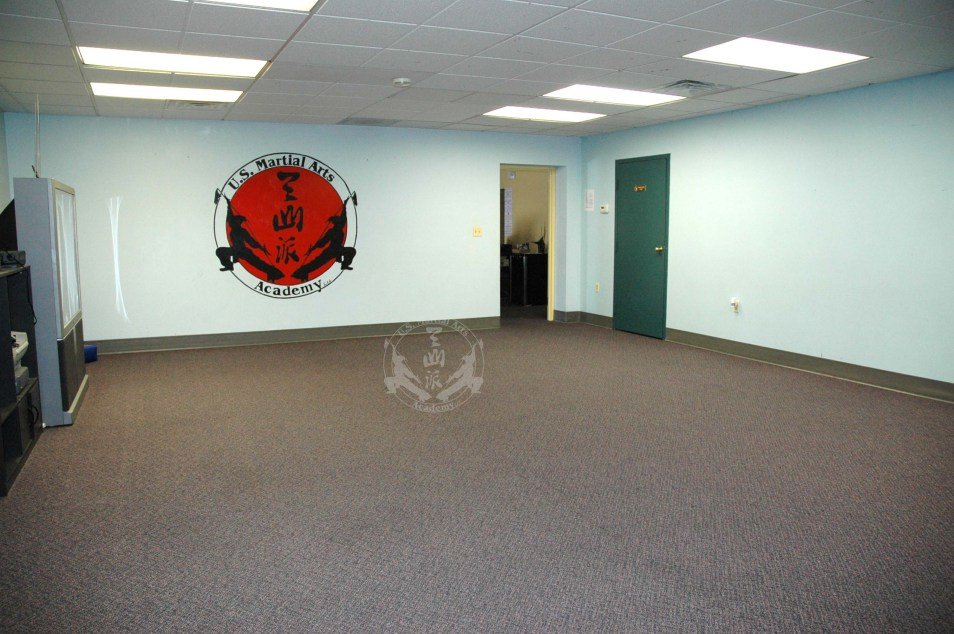 smaller classroom in US Martial Arts Academy, Ltd., Timonium, Maryland