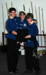 November 15, 2008 -- two of our newest Black Sashes at US Martial Arts Academy, Ltd., Timonium, Maryland