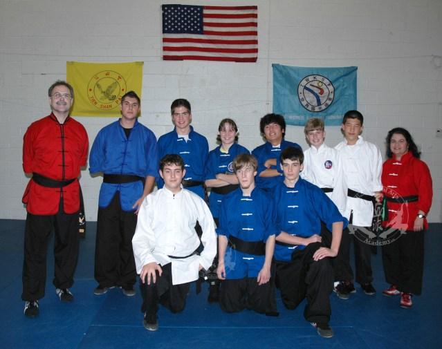 November 15, 2008 -- newest Black Sashes at US Martial Arts Academy, Ltd., Timonium, Maryland