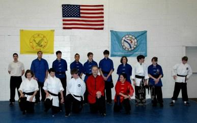 2009 March Black Sash Test at US Martial Arts Academy, Ltd. Timonium, Maryland 21093