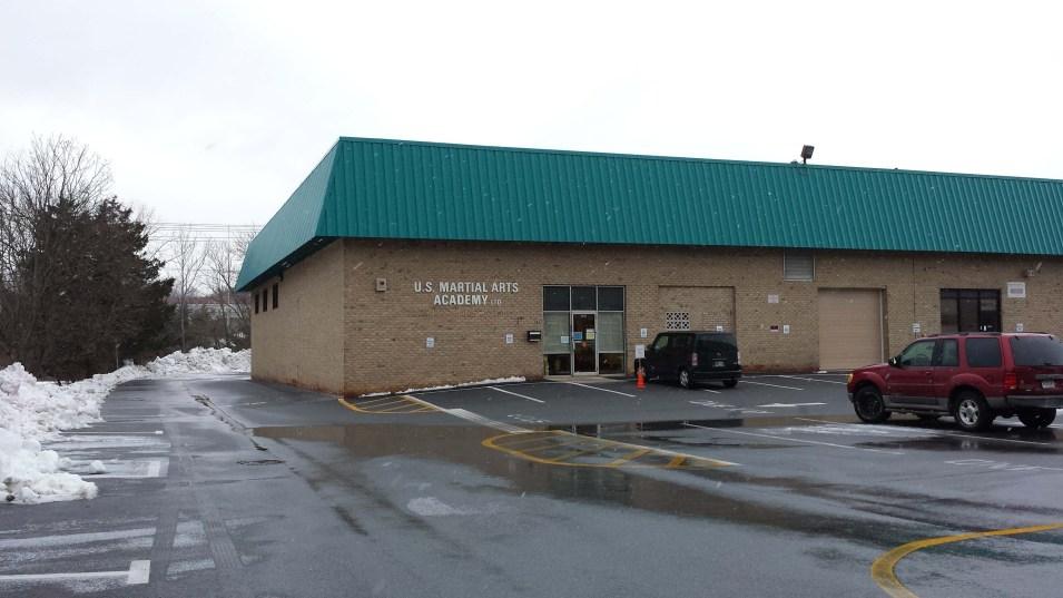 2014 Feb 15 Snow Flurries at US Martial Arts Academy, Ltd, Timonium, Maryland