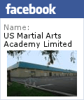 US Martial Arts Academy, Ltd. Facebook badge