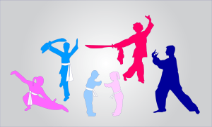 US Martial Arts Academy, Ltd clipart of Kung Fu Kids, Teenage Girl and Boy, and Tai Chi Woman and Man created by Maricar Jakubowski ©2015 Maricar Jakubowski All rights reserved. No usage in any form without written consent of the creator. info@usmaltd.com