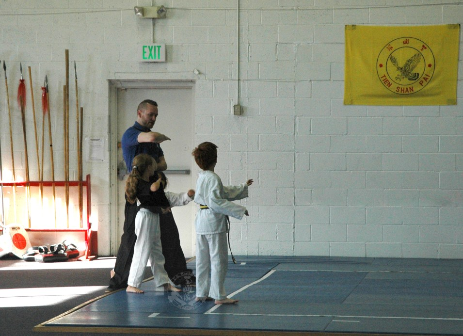 Forms practice in the Kung Fu Kids class at US Martial Arts Academy, Ltd, Timonium, MD 21093, www.usmaltd.com 410-561-9882 ©2015 Maricar Jakubowski All rights reserved. No usage allowed in any form without the written consent of the photographer.