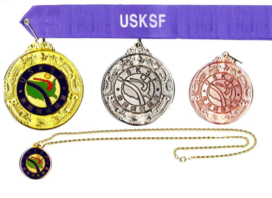 USKSF International Medals
