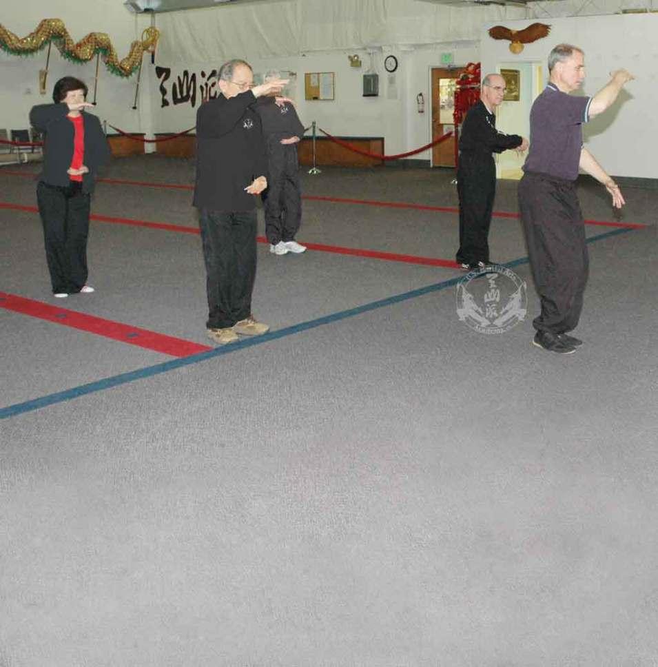 Adult Tai Chi class at U.S. Martial Arts Academy, Ltd. Timonium Maryland U.S.A.©2015 Maricar Jakubowski www.usmaltd.com 410-561-9882 All rights reserved.