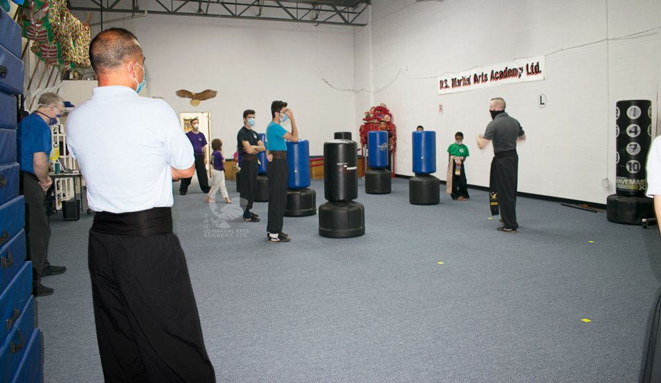 Family Adult Kung Fu Class at US Martial Arts Academy, Ltd in Cockeysville, Maryland 21030, www.usmaltd.com, 410-561-9882.