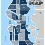 Seattle Wa Zip Code Map Updated 2019