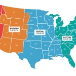 United States Time Zone Map Live Time