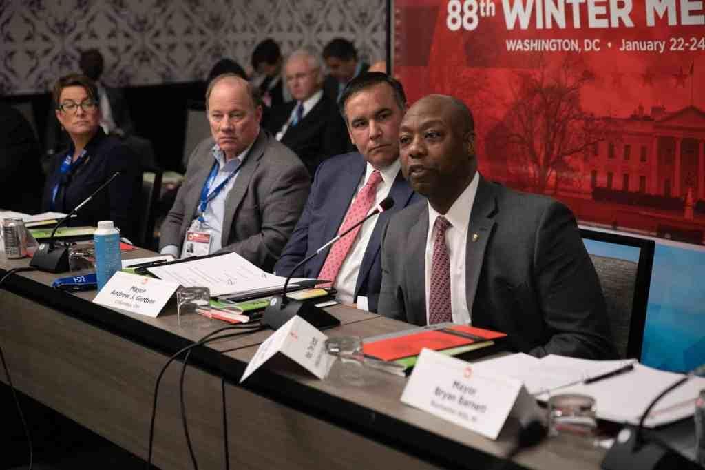 Senator Tim Scott (SC) Provides Mayors with an Update on Opportunity Zones