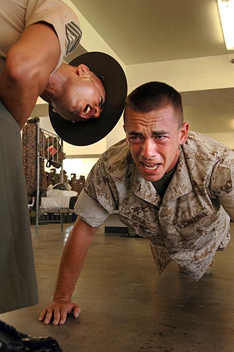Chap drill sergeant