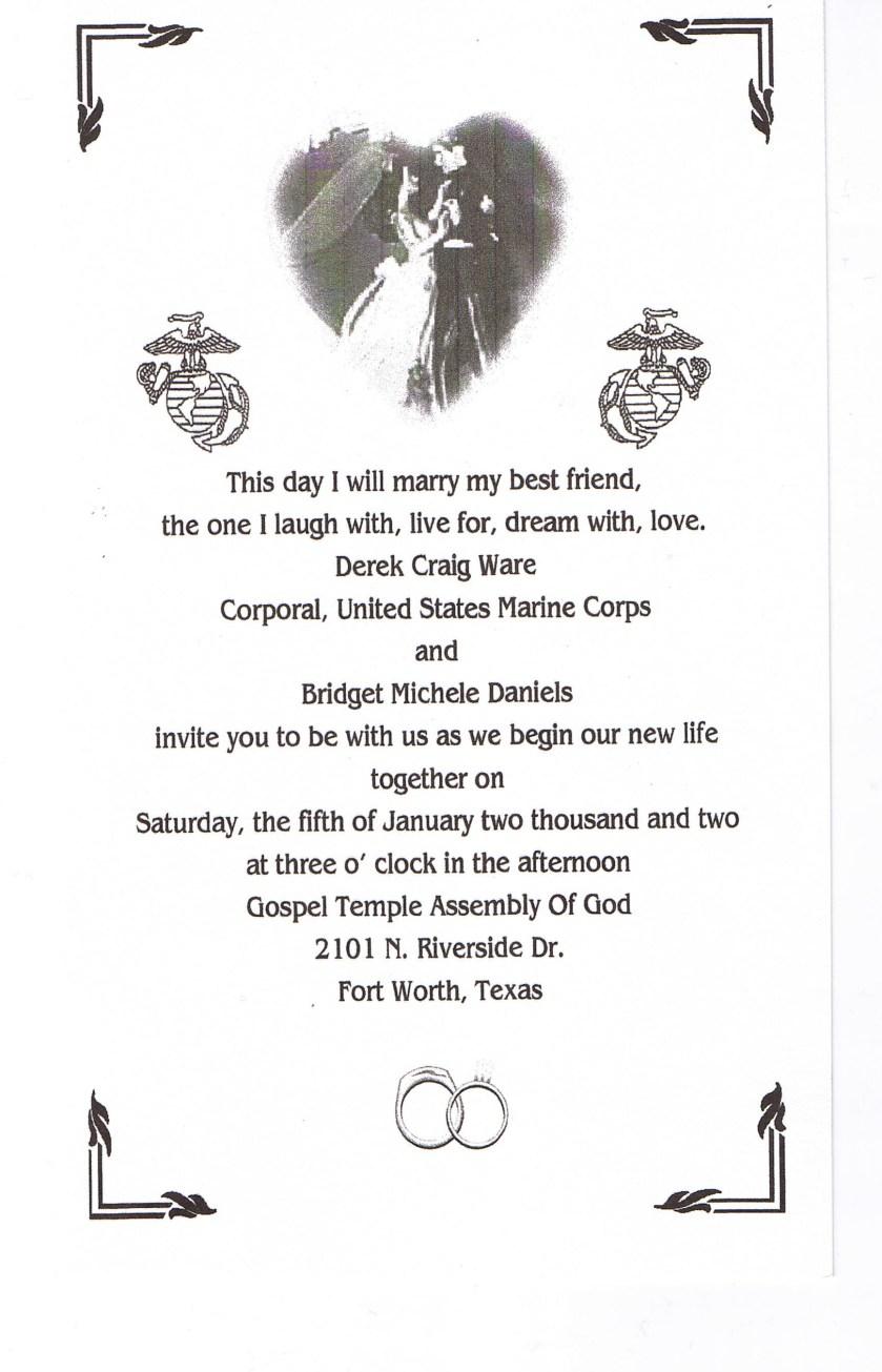 Invitation Wedding Reply Card