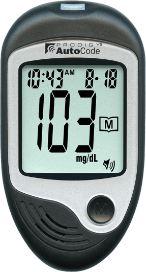 Prodigy Glucose Meter