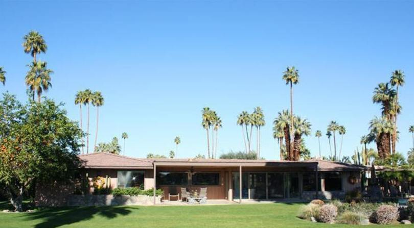 USModernist William Cody 1955   The Hoagy Carmichael Renovation  40267 Club View Drive  Thunderbird  Country Club  Rancho Mirage CA  Original house was built in 1953