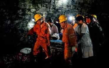 चीनको कोइला खानीमा फसेका २१को मृत्यु।