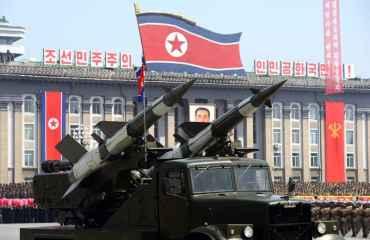 ओलम्पिकको पूर्वसन्ध्यामा उत्तर कोरियामा सैन्य परेड