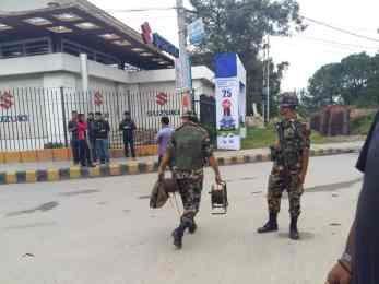 सप्तरीमा एमाले सभास्थलमा बम फेला , सेना खटाईयो