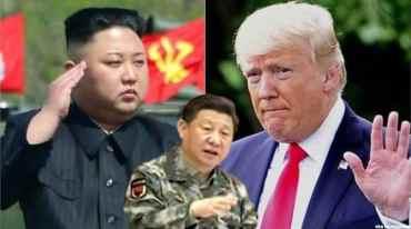 उत्तर कोरिया र अमेरिकाबीच युद्ध : चीन चुप लागेर नबस्ने
