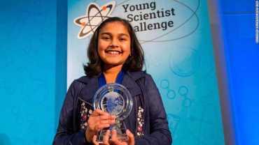 अमेरिकाको उत्कृष्ट युवा वैज्ञानिक पुरस्कार भारतीय मूलकी गिताञ्जलीलाई