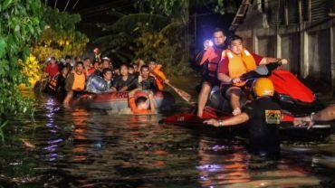 फिलिपिन्स आँधीः '१०० बढीको मृत्यु'