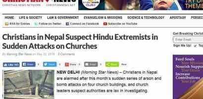 """नेपाली क्रिस्चियनहरूको आरोप: """"हामिहरूमाथि आक्रमण भइरहेको छ"""""""