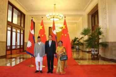 नेपाल-चीन संयुक्त वक्तव्य : रेलमार्गसहित विभिन्न १४ विषयमा सम्झौता