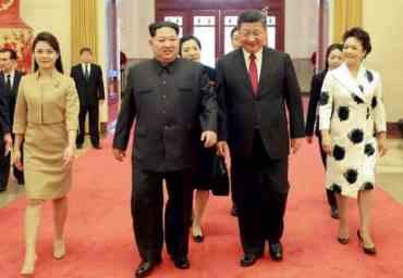 किन पुगे किम जोङ अचानक चीन ?