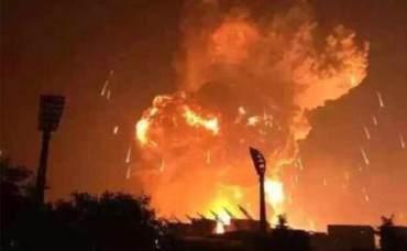 चीनको  औद्योगिक क्षेत्रमा विस्फोट, १९ जनाको मृत्यु